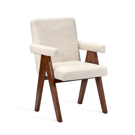 Julian Arm Chair // Boucle