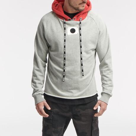 Derby Hoodie // Grey Melange (S)