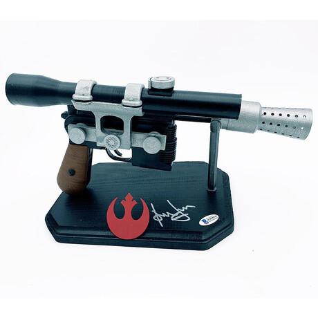 Harrison Ford // Autographed Full-Size Replica Han Solo Blaster