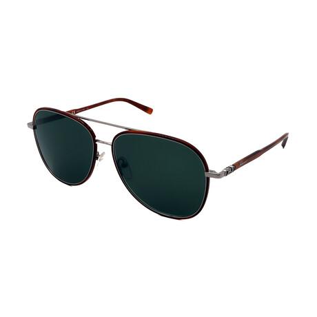 Unisex SF181S-214 Aviator Sunglasses // Tortoise