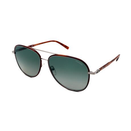 Unisex SF181SP-214 Polarized Aviator Sunglasses // Tortoise