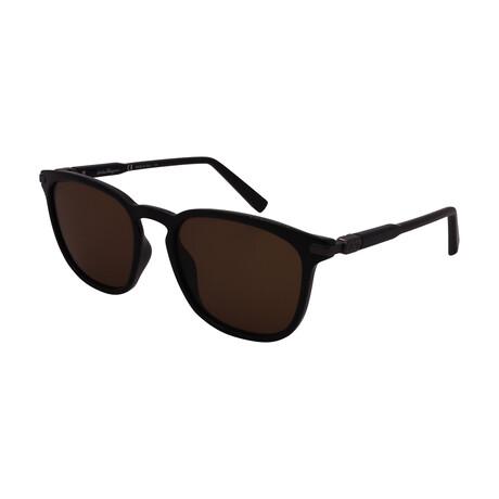 Unisex SF881S-001 Square Sunglasses // Black
