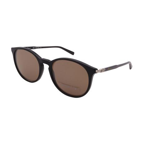 Unisex SF911SG-001 Round Sunglasses // Black