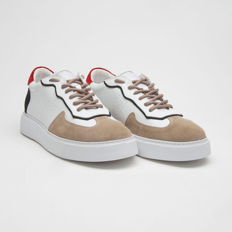 TT1655 Sneakers // White (Men's Euro Size 39)