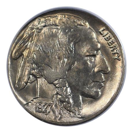 1927 Buffalo Nickel // PCGS Certified // MS-66