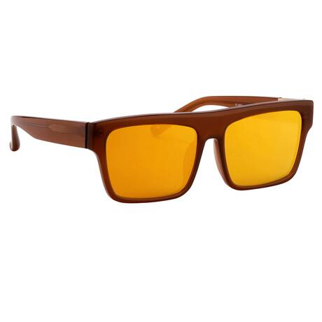 Unisex PL30C4SUN Sunglasses // Mahogany