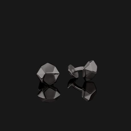 Geom Cufflinks // Black