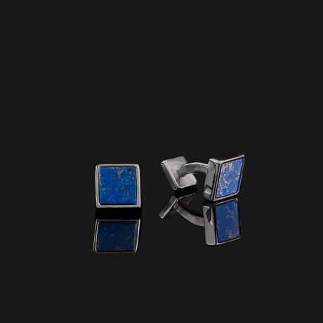 Essential Cufflinks // Black (Onyx)