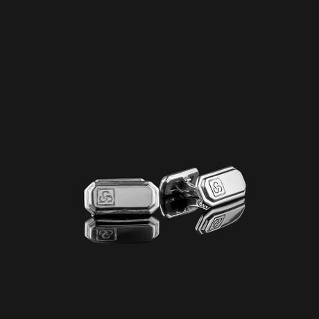 Signature Cufflinks // Silver