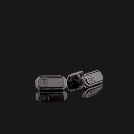 Signature Cufflinks // Black
