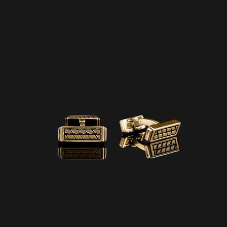 Royale Cufflinks // Gold