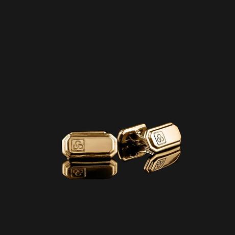 Signature Cufflinks // Gold