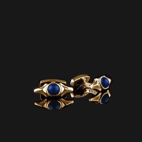 Kudos Cufflinks // Gold (Onyx)
