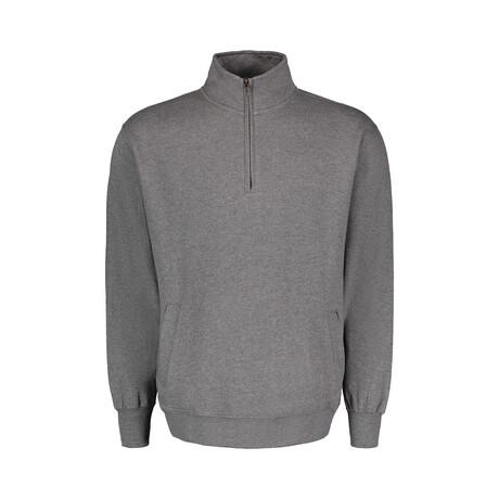 Quarter Zip Fleece // Gray (S)