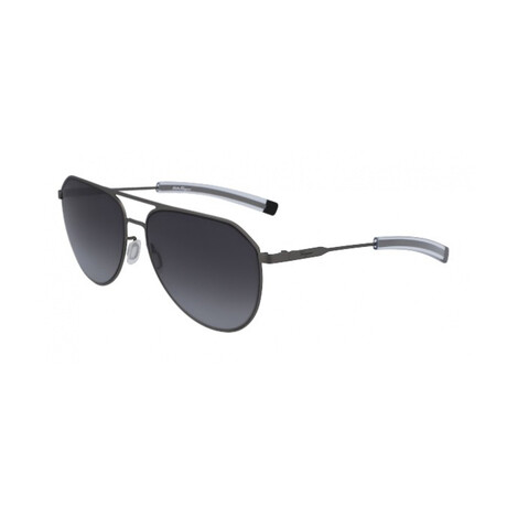 Unisex SF219S-071 Aviator Sunglasses // Matte Dark
