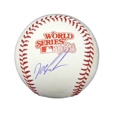 "Dwight ""Doc"" Gooden // Signed Rawlings 1986 World Series Baseball"