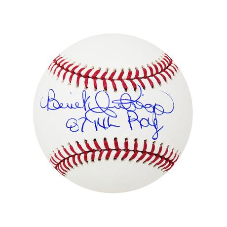 "Benito Santiago // Signed Rawlings Official MLB Baseball // ""87 NL ROY"" Inscription"
