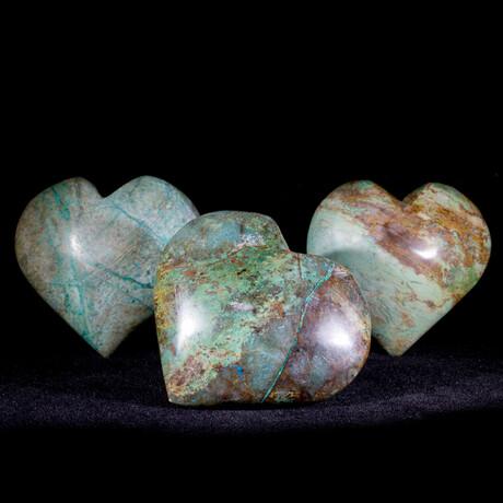 Chrysocolla Heart V2
