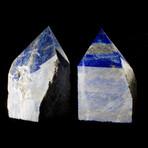 Polished-Point Lapis Lazuli