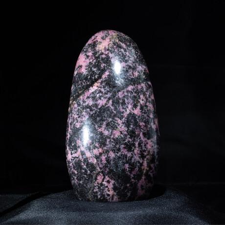 Black & Rose Rhodonite Free Form