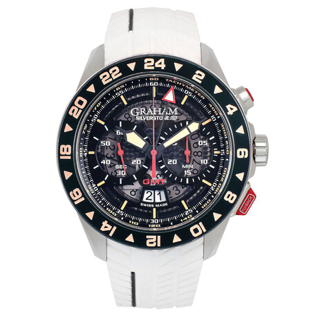 Graham Silverstone RS GMT Fly-Back Chronograph Automatic // 2STDC.B08A // Store Display