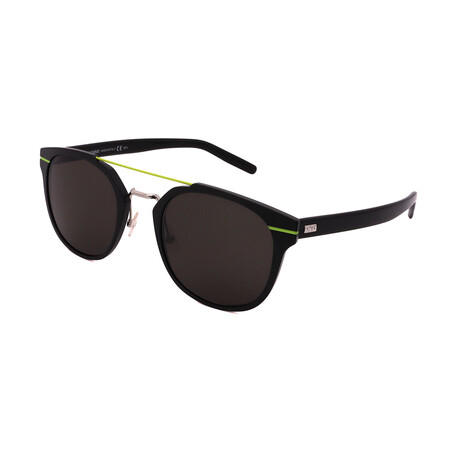 Dior // Unisex AL13-5-GR2 Square Sunglasses // Black