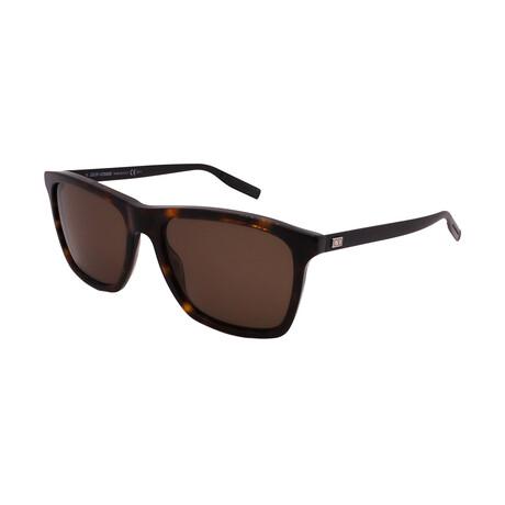 Dior // Unisex BLACKTIE177-S-0PC Square Sunglasses // Havana