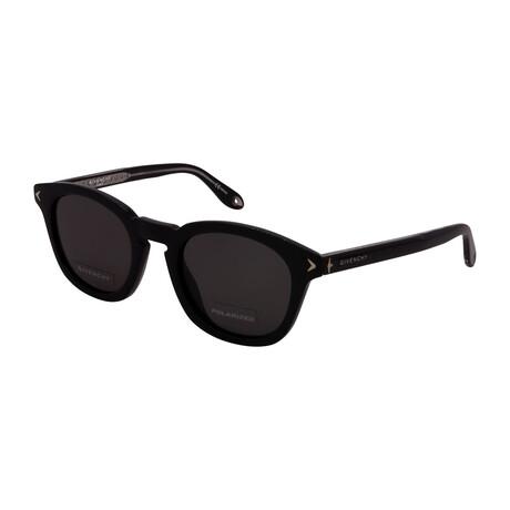 Givenchy // Women's GV7058-S-807 Square Sunglasses // Black