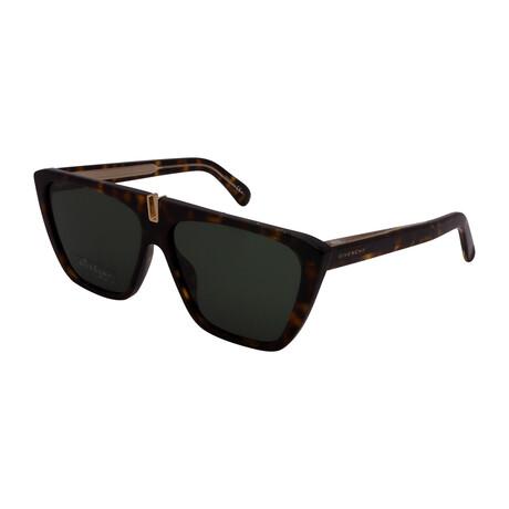 Givenchy // Unisex GV7109-086 Square Sunglasses // Havana