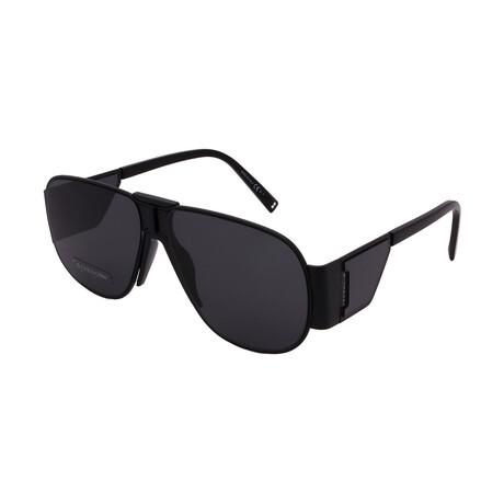 Givenchy // Unisex GV7164-S-807 Pilot Sunglasses // Black