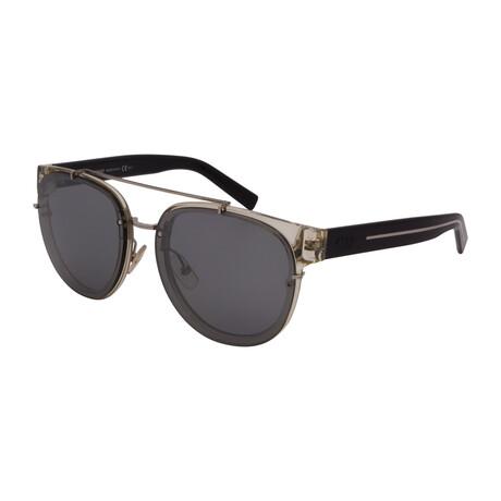 Dior // Men's BLACKTIE143S-E42 Square Sunglasses // Crystal Black