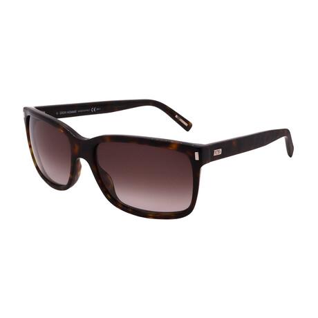 Dior // Unisex BLACKTIE155-S-086 Square Sunglasses // Havana