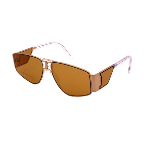 Givenchy // Women's GV7166-S-DYG Rectangular Sunglasses // Gold