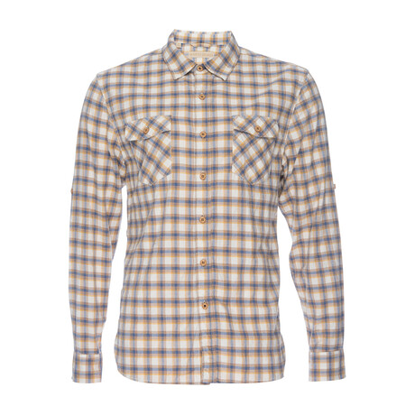 Truman Flap Pocket Shirt // Yellow Plaid (XS)
