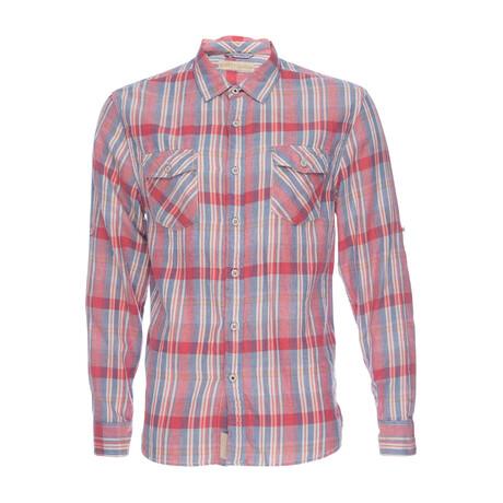 Truman Flap Pocket Shirt // Red Plaid (XS)