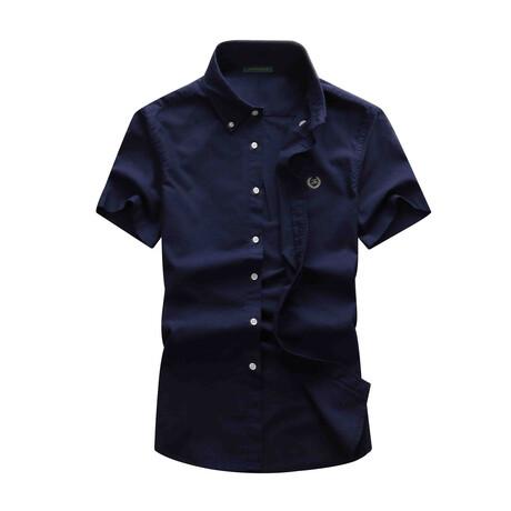 Basso Shirt // Dark Blue (S)