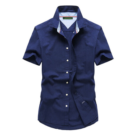 Wurf Shirt // Dark Blue (S)