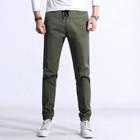 Cabot Pants // Military (S)