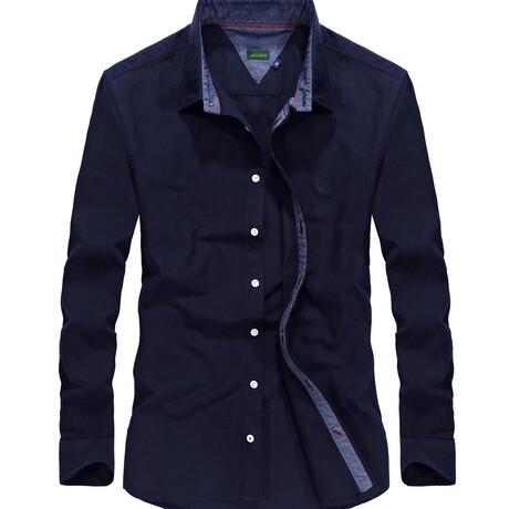 Manzin Shirt // Dark Blue (S)