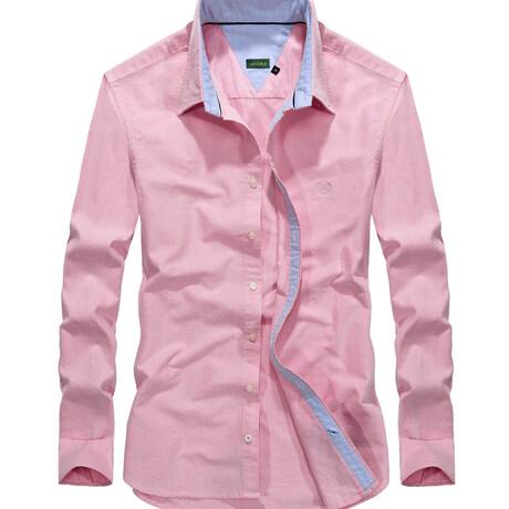 Manzin Shirt // Pink (S)