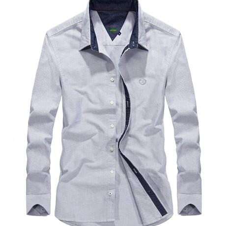 Manzin Shirt // Gray (S)