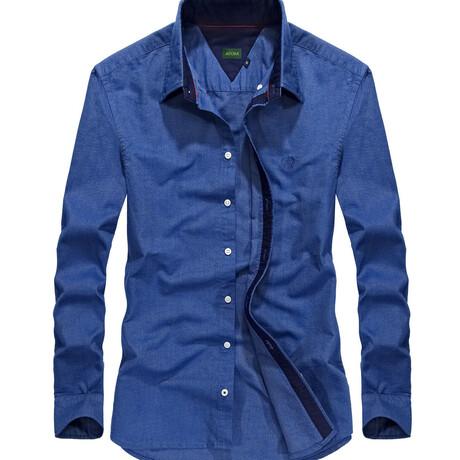 Manzin Shirt // Blue (S)