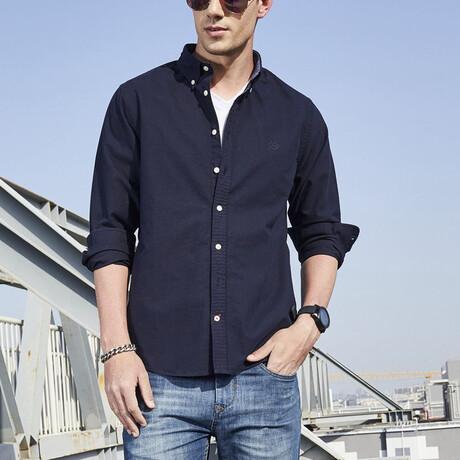 Ferron Shirt // Dark Blue (S)