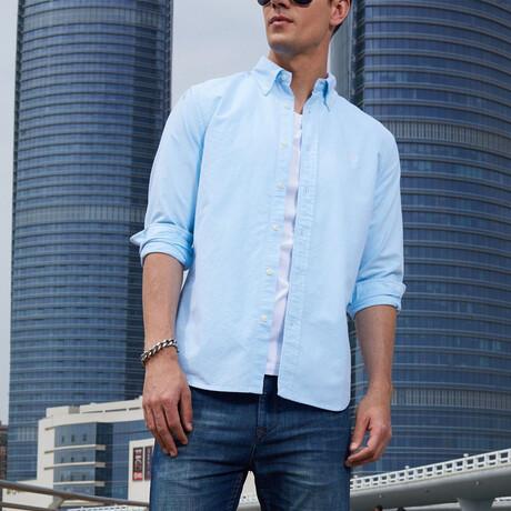Ferron Shirt // Lake Blue (S)