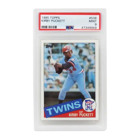 Kirby Puckett // Minnesota Twins // 1985 Topps Baseball #536 RC Rookie Card