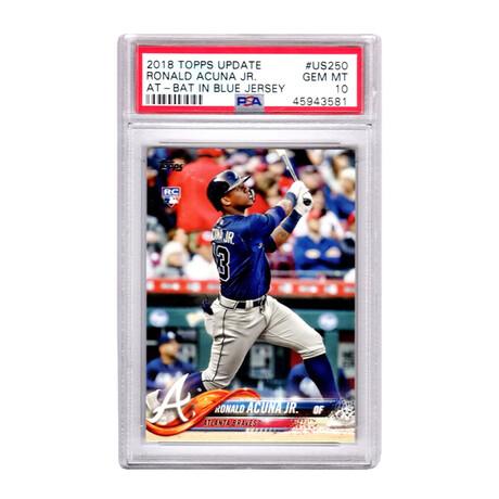 Ronald Acuna // Atlanta Braves // 2018 Topps Update Baseball #US250 RC Rookie Card