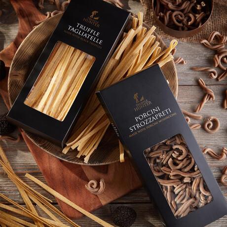 Pasta Set // Black Truffle Tagliatelle + Porcini Strozzapreti // 250g Each