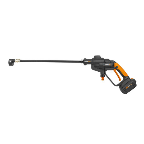 WORX 20V Power Share 320 PSI / 0.53 GPM Hydroshot Portable Power Cleaner // 4Ah Battery + Quick Charger