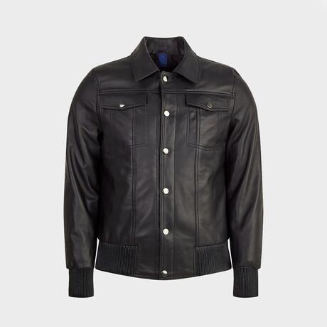 Aiden Flight Jacket // Black (XS)