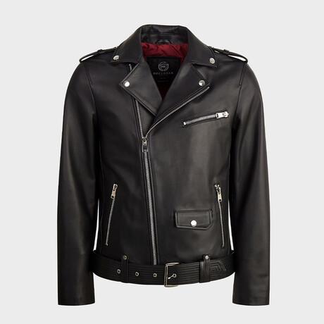 Noah Biker Jacket // Black (XS)